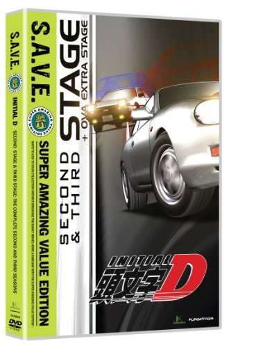 Stage Two & Stage Three S.A.V. Initial D Tv14 4 DVD