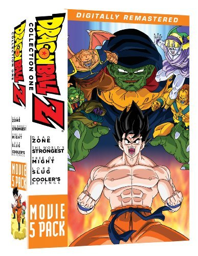 Movie Pack #1 Movies 1 5 Dragon Ball Z Tvpg 5 DVD