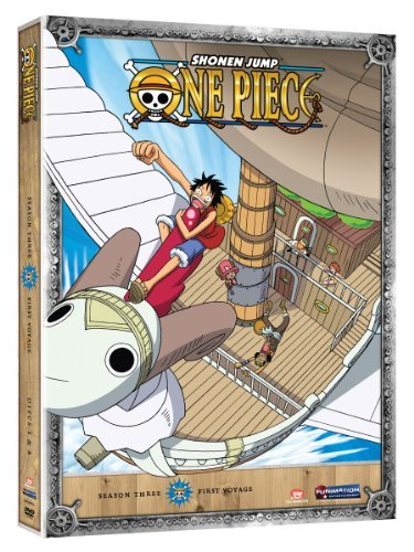 One Piece Season 3 First Voyage Tv14 2 DVD