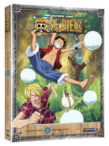 One Piece Season 3 Second Voyage Tv14 2 DVD