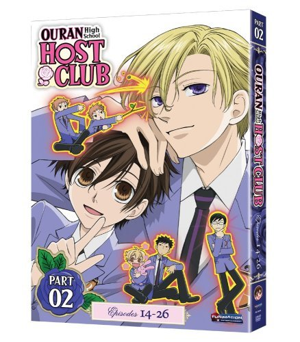 Ouran High School Host Club Season 1 Pt. 2 Nr