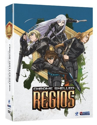 Chrome Shelled Regios Pt. 1 Tvma 2 DVD
