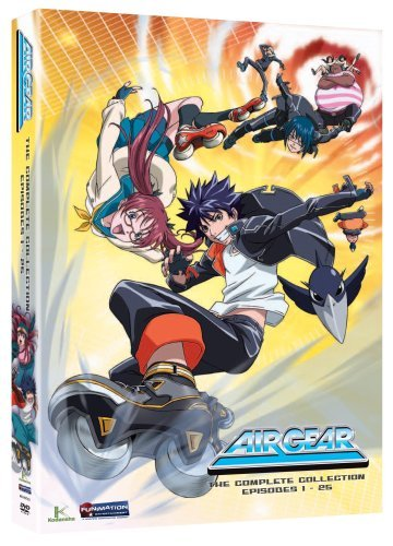 Air Gear Box Set Nr 4 DVD