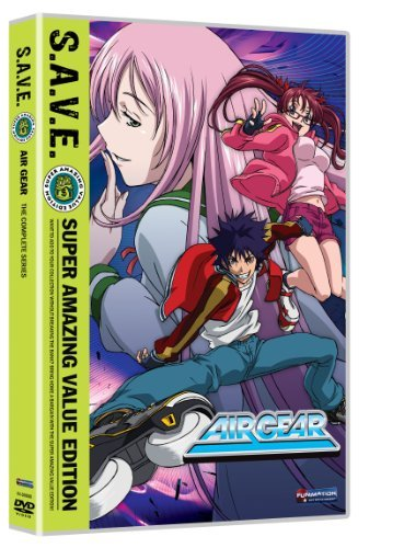 Air Gear Complete Box Set S.A.V.E. Tvma 4 DVD