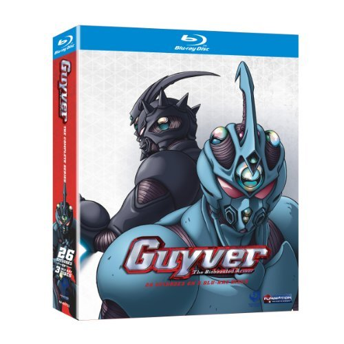 Guyver Complete Box Set Blu Ray Ws Complete Box Set