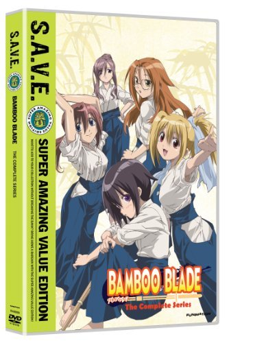 Bamboo Blade Complete Series S.A.V.E. Tvpg 4 DVD