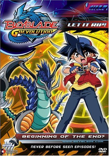 Beyblade Vol. 1 Beginning Of The End Clr Nr Edited