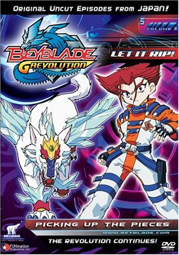 Beyblade Vol. 5 Picking Up The Pieces Clr Nr