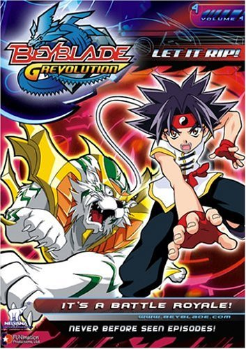 Beyblade Vol. 4 It's A Battle Royale Clr Nr Edited