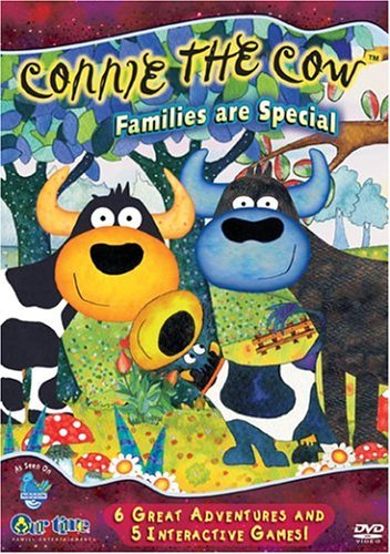 Connie The Cow Families Are Special Clr Chnr