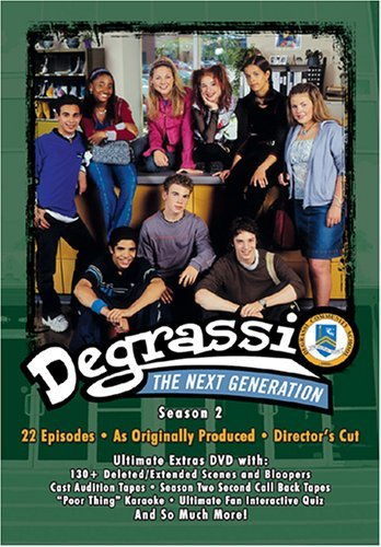 Degrassi Next Generation Season 2 Clr Tvpg 2 DVD