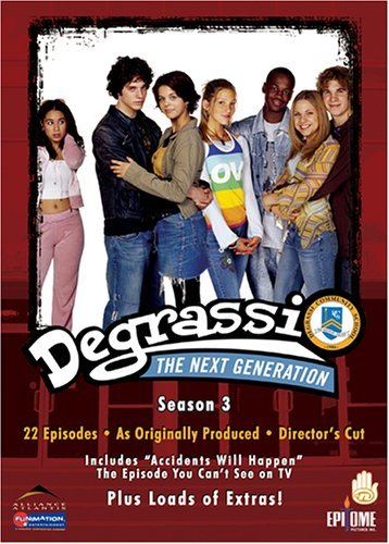 Degrassi Season 3 Tvpg 3 DVD