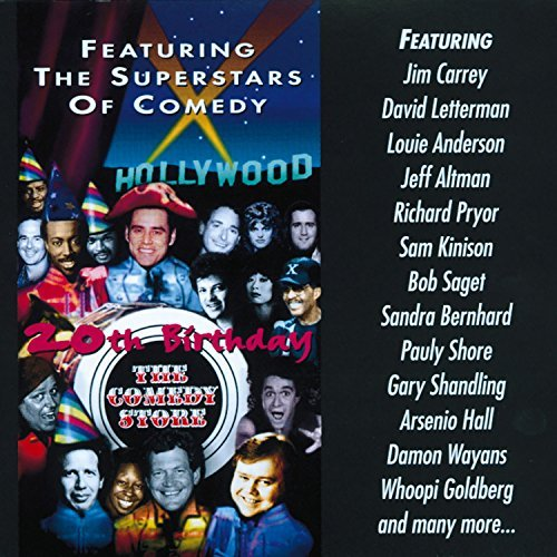 Comedy Store 20th Birthday Comedy Store 20th Birthday Carrey Letterman Pryor Wayans Goldberg Hall Shore Shandling