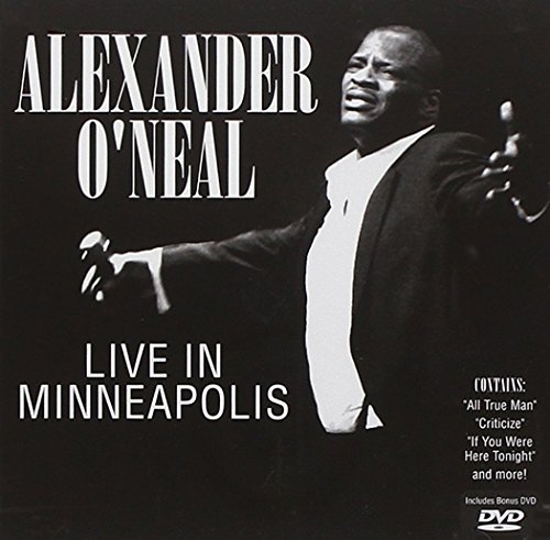 Alexander O'neal Live In Minneapolis Incl. DVD