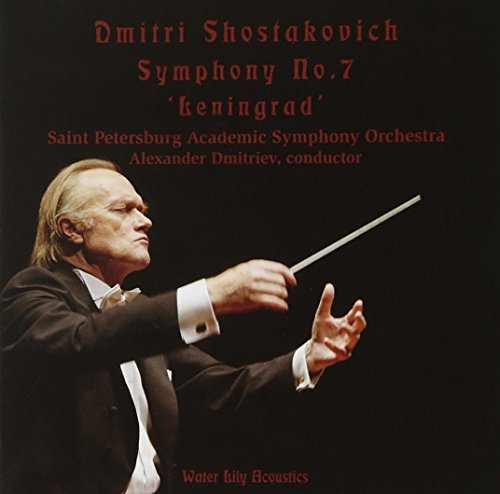 Dmitri Shostakovich Sym 7 Leningrad Sacd Dmitriev Saint Petersburg So