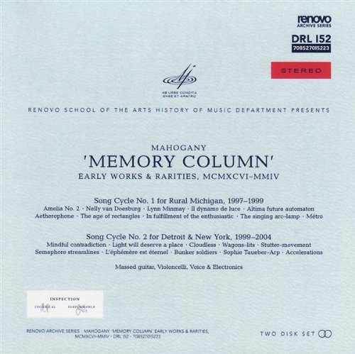 Mahogany Memory Column Early Works & Ra 2 CD
