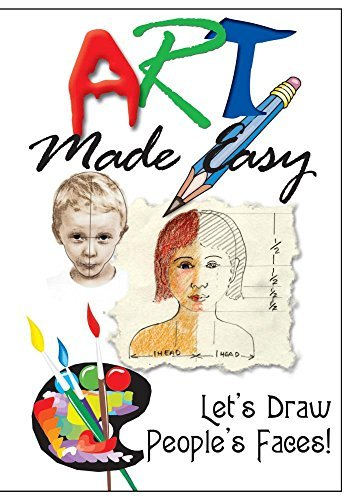 Let's Draw People's Faces! Art Made Easy Series Nr