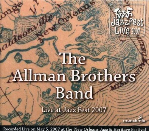 Allman Brothers Band Live At Jazz Fest 5 5 07 2 CD Set