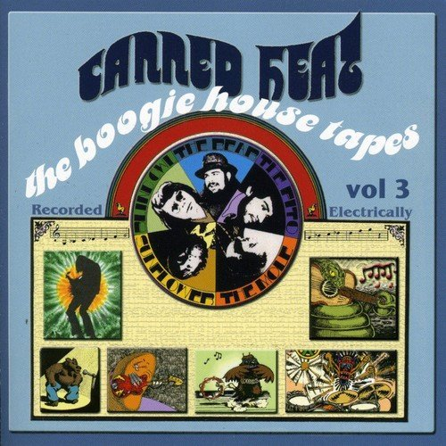 Canned Heat Vol. 3 Boogie House Tapes 2 CD