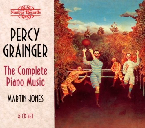 P. Grainger Complete Piano Music Jones*martin (pno) 5 CD