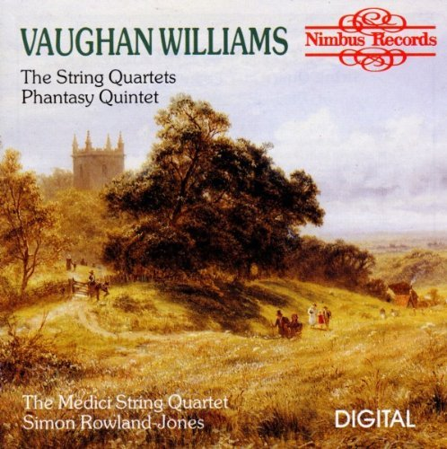 R. Vaughan Williams String Quartet 1 2 Medici Str Qt