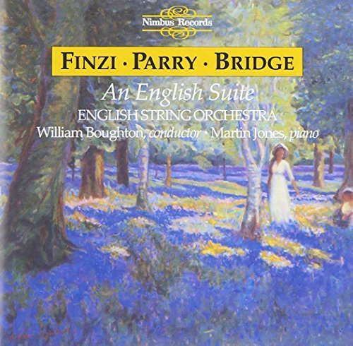 Finzi Parry Bridge Eclogue Piano&strings English Jones*martin (pno) Boughton English Co