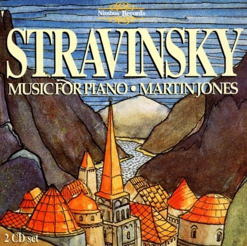 I. Stravinsky Music For Piano Jones*martin (pno)