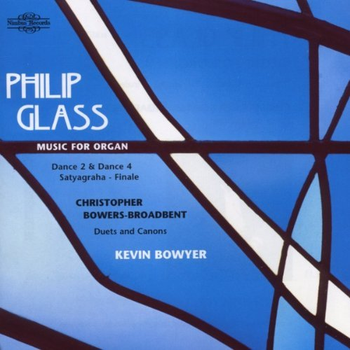 P. Glass Music For Organ Bowyer*kevin (org)