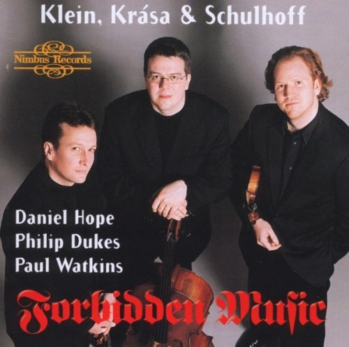 Klein Krasa Schulhoff String Trio Duo Violin Cello K Hope Dukes Watkins