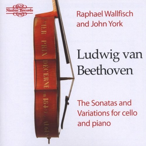 Ludwig Van Beethoven Sonatas & Variations For Cello Wallfisch (vc) York (pno)