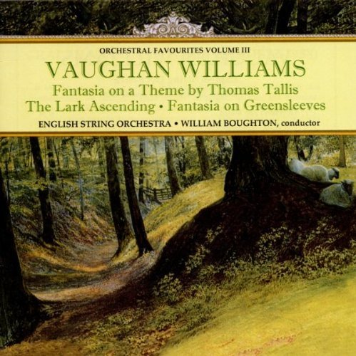 R. Vaughan Williams Orchestral Favorites Vol. 3 Boughton English Str Orch
