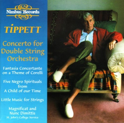 M. Tippett Concerto For Double String Orc