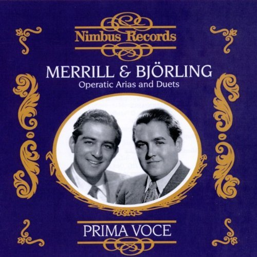 Bjorling Merrill Operatic Arias & Duets