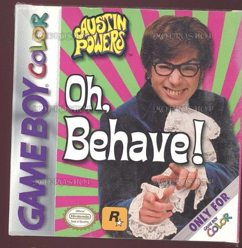 Gameboy Color Austin Powers Oh Behave T
