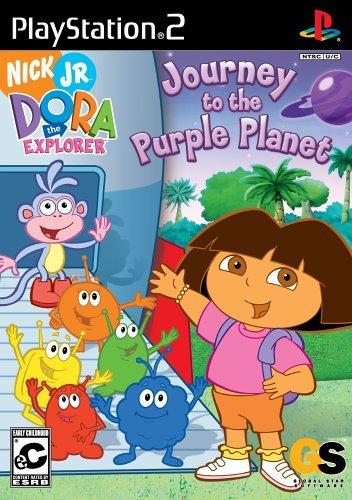 Ps2 Dora Explorer Journey Purp