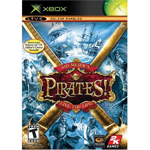 Xbox Pirates Sid Meiers