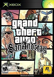 Xbox Grand Theft Auto San Andreas Mature Rated Version