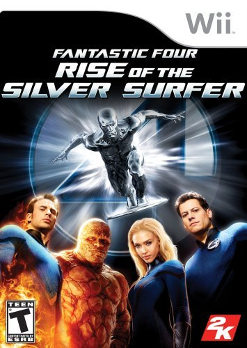 Wii Fantastic 4 Rise Of Silver