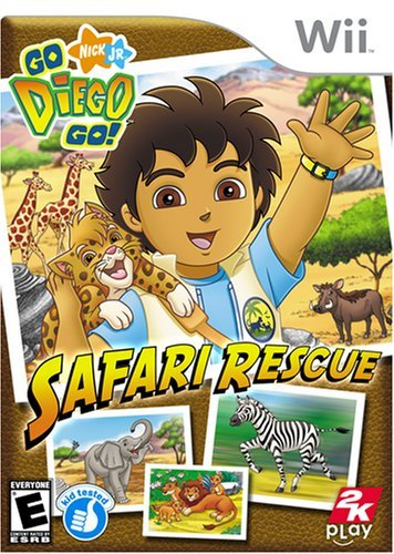 Wii Go Diego Go Safari Rescue