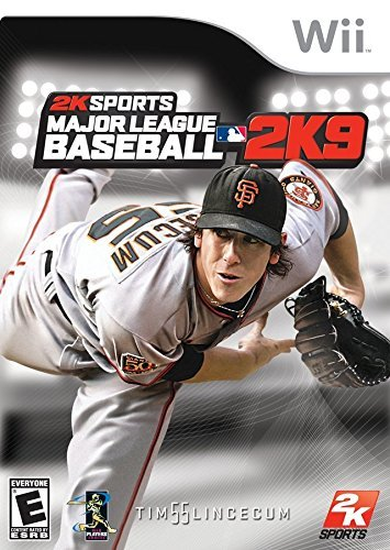 Wii Major League Baseball 2k9 E