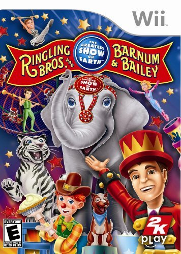 Wii Ringling Bros. Barnum & Bailey Circus
