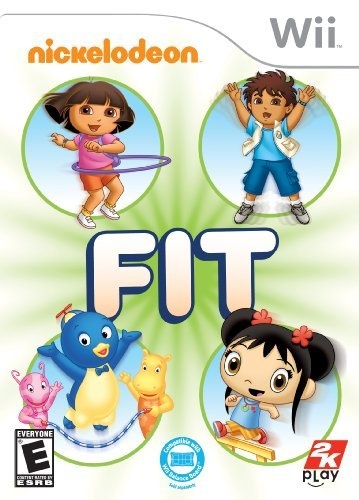 Wii Nickelodeon Fit E