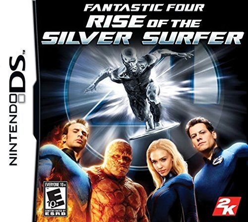 Nintendo Ds Fantastic 4 Rise Of Silver