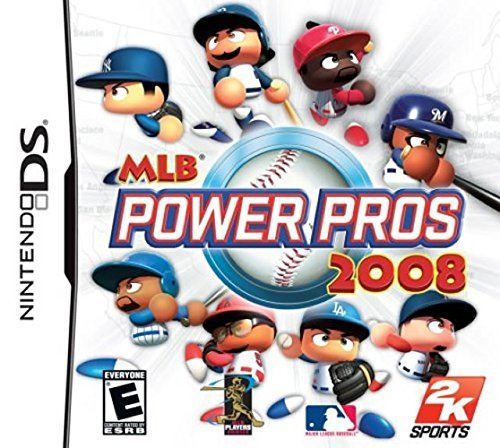 Nintendo Ds Mlb Power Pros 2008
