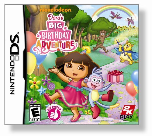 Nintendo Ds Dora The Explorer Doras Big Birthday Adventure