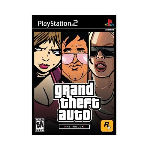 Ps2 Grand Theft Auto Trilogy Take 2 Interactive M