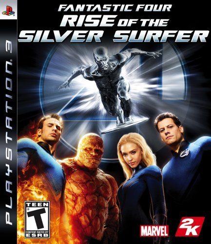 Ps3 Fantastic 4 Rise Of The Silver Surfer