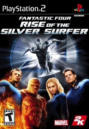Ps2 Fantastic 4 Rise Of The Silver Surfer