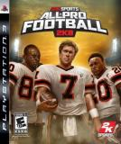 Ps3 All Pro Football 2k8
