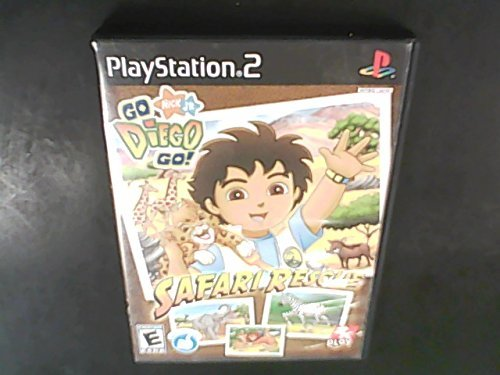 Ps2 Go Diego Go Safari Rescue